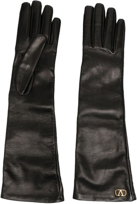Valentino VLogo long gloves
