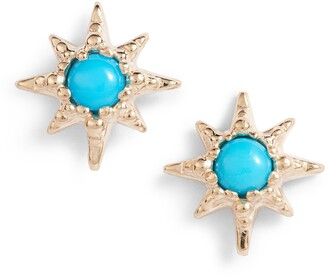 Anzie Micro Starburst Earrings