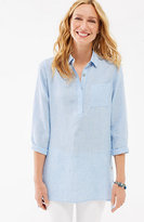 J. Jill Linen Side-Button Tunic