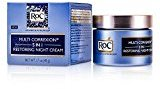 Roc by Multi Correxion 5 in 1 Restoring Night Cream --48ml/1.7oz for WOMEN ---(Package Of 4)