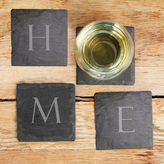 Cathy's Concepts CATHYS CONCEPTS Home Sweet Home 4-pc. Coasters