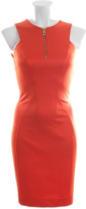 Versace Orange Viscose Dresses