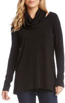 Karen Kane Women's Cutout Cowl Neck Sweater