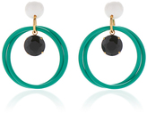 Marni Turqouise Hoop Earrings