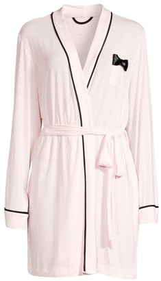 Kate Spade Bow-Detail Short Robe