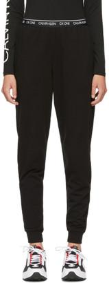 Calvin Klein Underwear Black CK One Jogger Lounge Pants