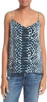 Equipment Women's 'Layla' Print Silk Camisole
