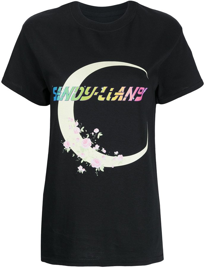Sandy Liang moon print T-shirt