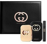 Gucci Guilty Set Edt Spray 2.5 Oz.+ Body Lotion 3.3 Oz Fragrance Pen Edt Spray .25 Oz In Gift Box