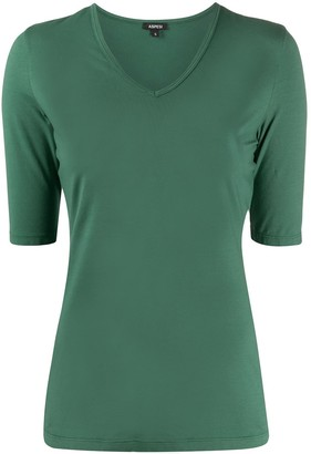 Aspesi v-neck fitted T-shirt