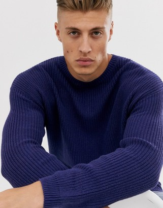 Cotton On Cotton:On knitted sweater in navy