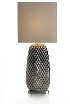 Mikasa Metallic Silver Ceramic Table Lamp