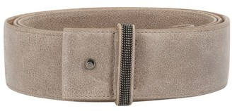 Brunello Cucinelli Burnished calfskin belt