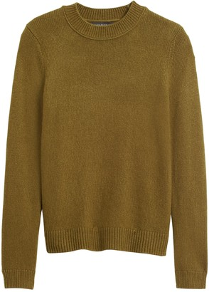 Banana Republic Cotton-Blend Crew-Neck Sweater
