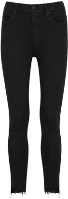 Mother The Stunner black skinny jeans