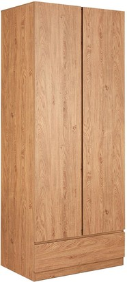 Machinto 3 PiecePackage - 2 Door, 1 Drawer Wardrobe, 4 Drawer Chest and a 3 Drawer Bedside Chests