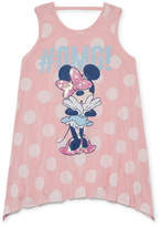 DISNEY MINNIE MOUSE Disney Minnie Mouse Tunic Top - Big Kid Girls