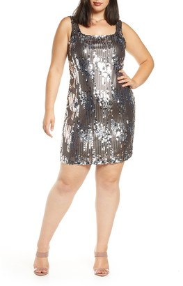 Leith Sequin Minidress