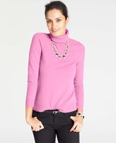 Ann Taylor Collectible Cashmere Turtleneck Sweater