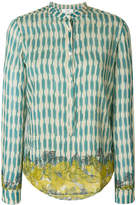 Forte Forte embroidered fitted shirt
