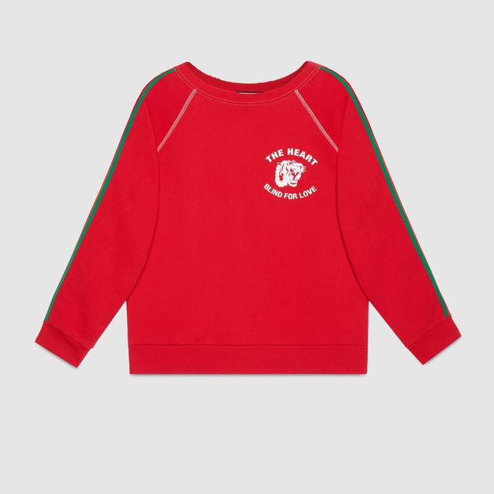 """Gucci """"Spiritismo"""" cotton sweatshirt"""