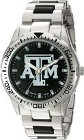 Game Time Men's COL-HH-TXA Heavy Hitter Analog Display Japanese Quartz Silver Watch