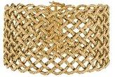 Buccellati 18K Wide Woven Bracelet