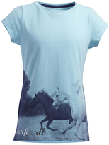 Carhartt Gulf Stream Photoreal Horses Tee - Girls