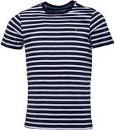 Farah Mens Lennox Stripe T-Shirt White
