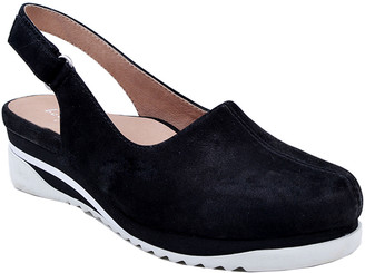 Bettye Muller Concept Taye Leather Sling-Back Wedge