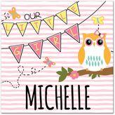 "Owl ""Our Little Girl"" Wall Art"