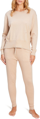 Morgan Lane Charlee Hailey Cotton-Cashmere Lounge Set