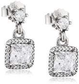 Pandora Women Silver Cubic Zirconia Earrings