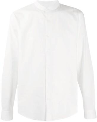 Sandro Paris Mandarin collar cotton shirt