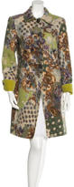 Etro Wool Patterned Coat