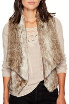 BB Dakota Dwight Faux Fur Vest