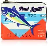 Paul Smith Tuna Print Leather Men's Zip Around Wallet