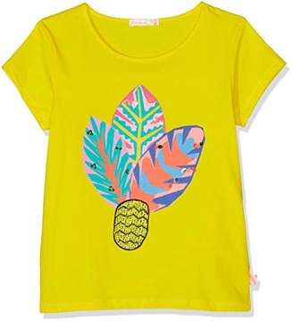 Billieblush Girls' TEE T-Shirt, (Yellow 530)