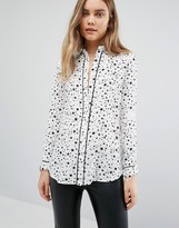 Warehouse Star Print Shirt
