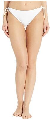 Bleu Rod Beattie Kore String Tie Side Hipster Bottoms (White) Women's Swimwear
