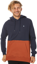Volcom Single Stone Division Mens Pullover Blue