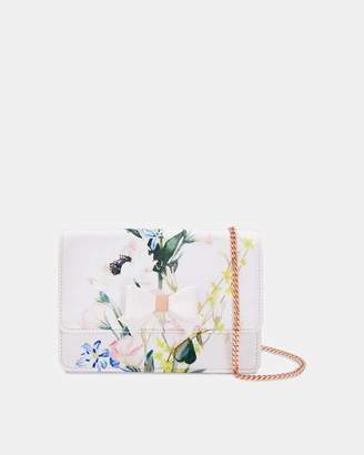 Ted Baker SHIRLYY Printed bow evening bag