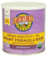 Earth Earth's Best Organic Sensitivity Infant Formula with Iron 23.2 oz
