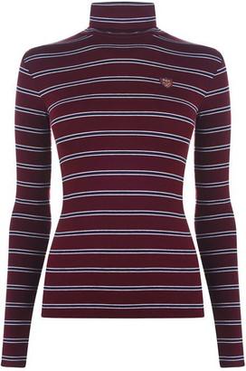 Polo Ralph Lauren Stripe Polo Neck Jumper