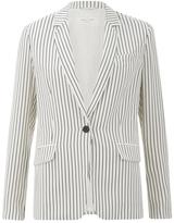 Rag & Bone Women's Belmar Blazer Black/White Stripe