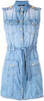 Balmain - denim shirt dress - women