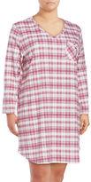 Karen Neuburger Plus Plaid Sleep Shirt