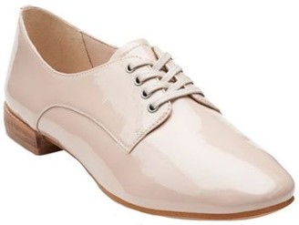 Clarks Narrative Patent Leather Lace-up Shoes -Festival Gala