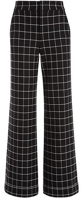 Alice + Olivia Dylan High-Rise Cuff Pants