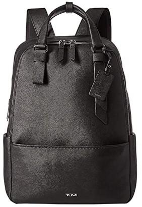 Tumi Varek Worth Backpack (Black) Backpack Bags